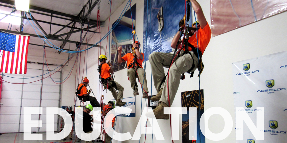 Rope access training and education