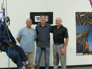Founder and CEO of Abseilon, Ken, with our good friends Leeroy and Joe from CMC Rescue